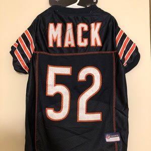 🔥KHALIL MACK #52 Chicago Bears NFLPA Dog Jersey